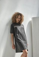 Homage Vintage Inspired Tee Dress Dirty Grey