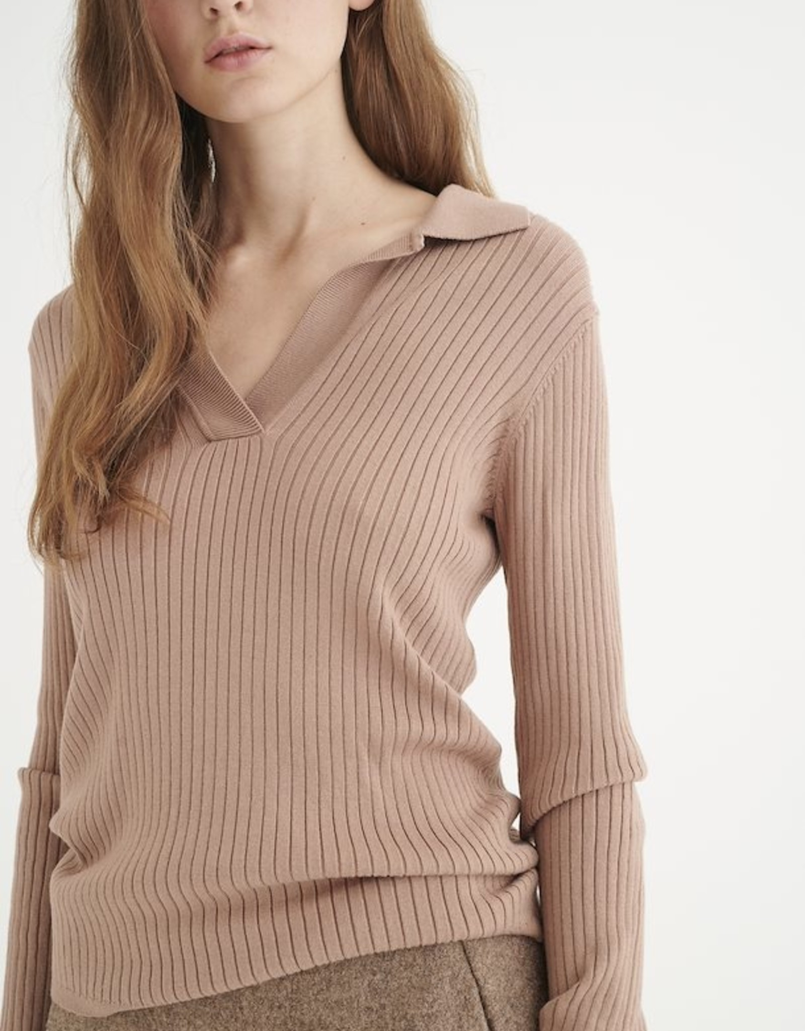 InWear Trinne Polo Pullover Camel