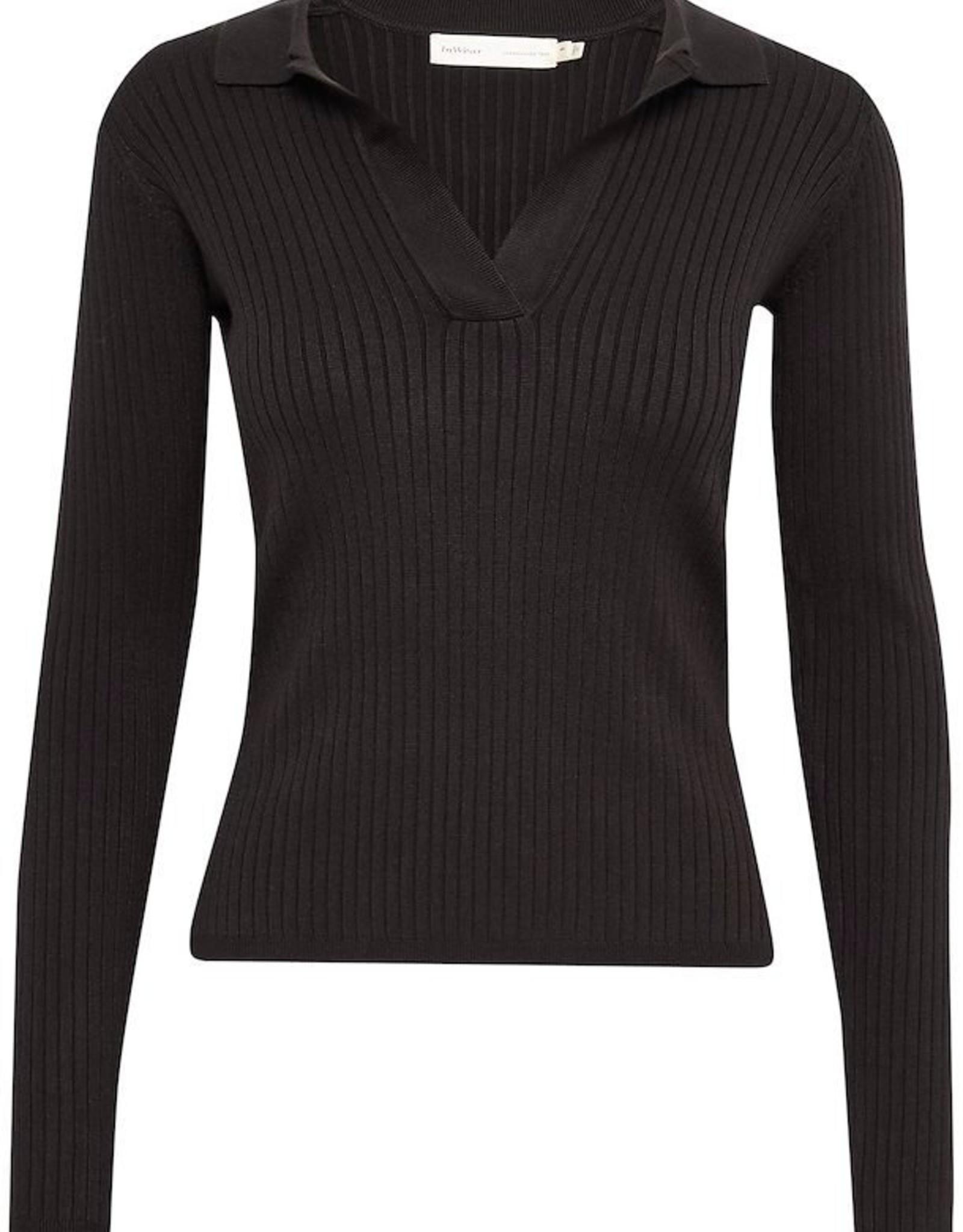 InWear Trinne Polo Pullover Black