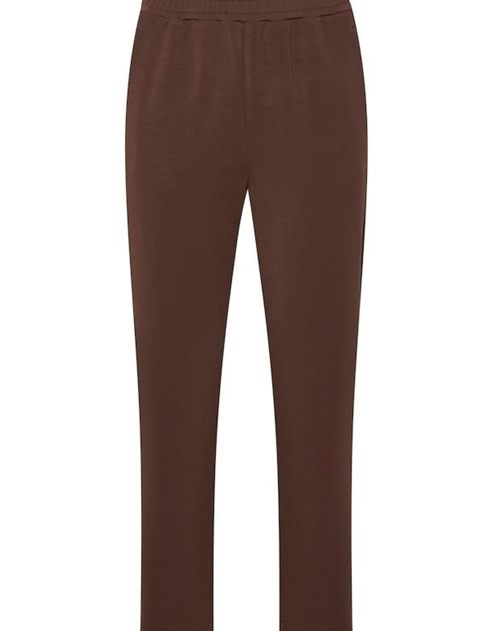 InWear Dalton Slit Pants Coffee Brown