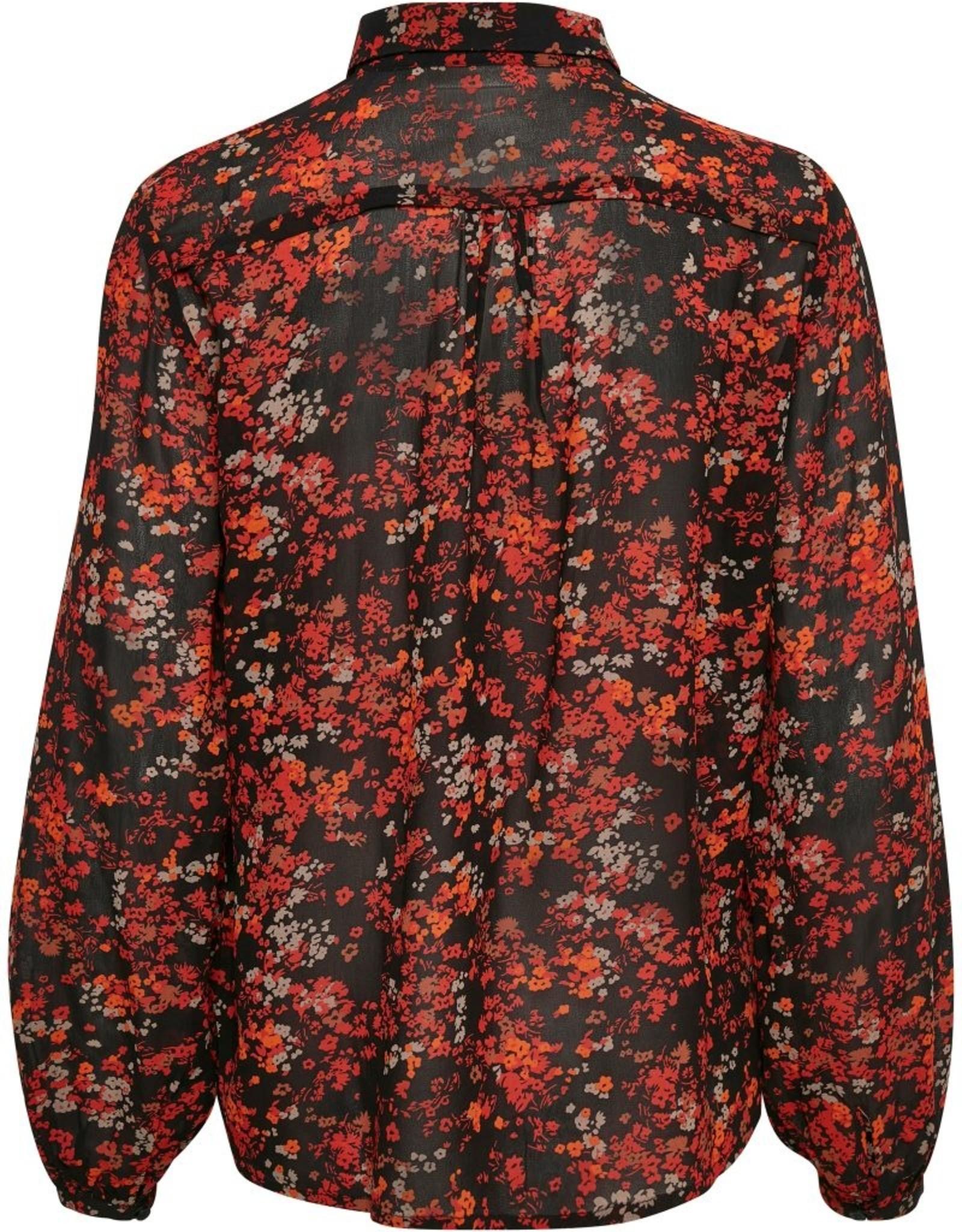 InWear Barbel Shirt Red Dried Flower
