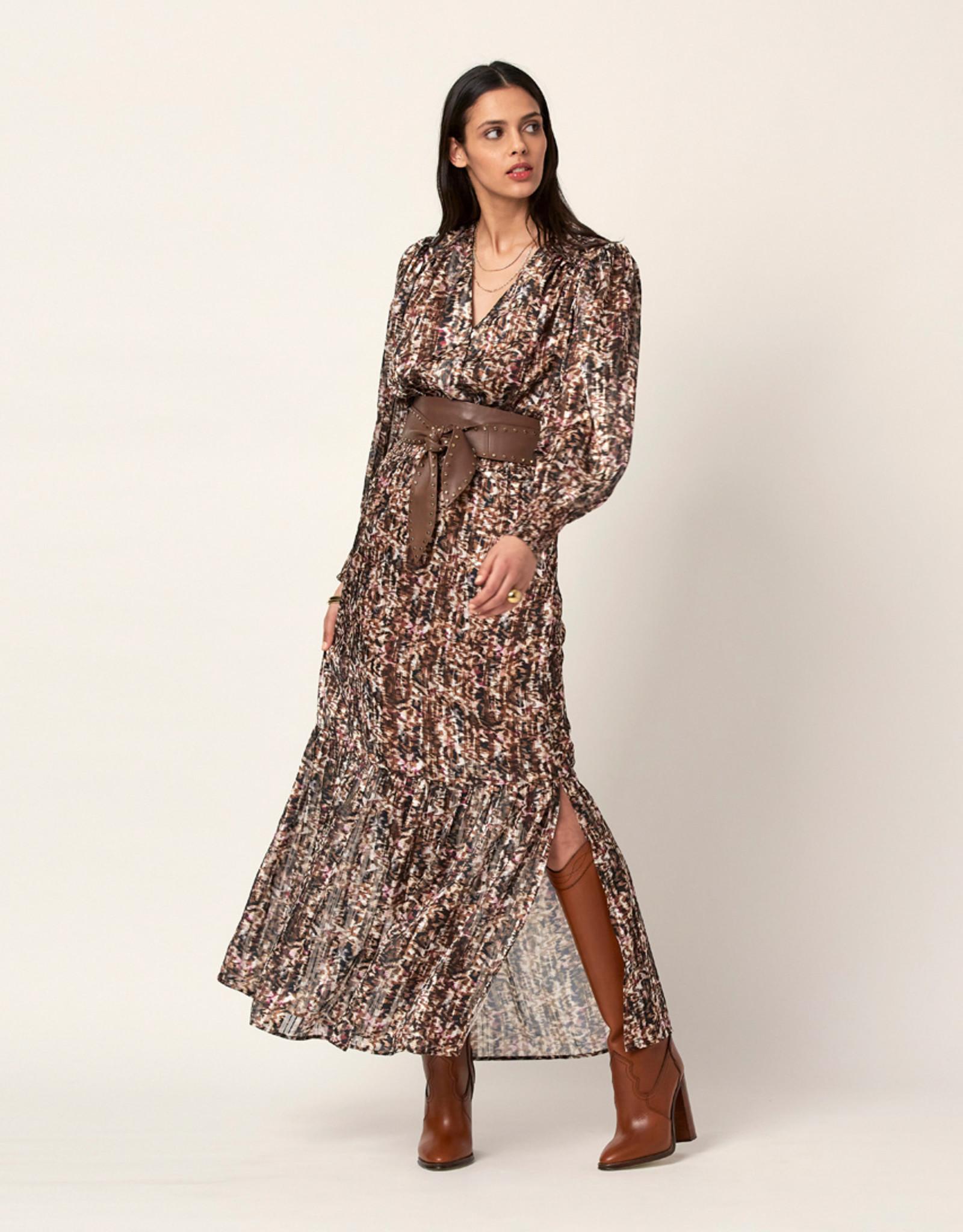 Dante 6 Elisabel Print Jacqard  Dress Multi