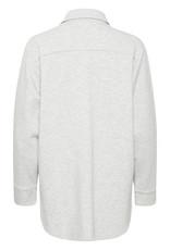 InWear Gicelle Melange Shirt New Light Grey Melange