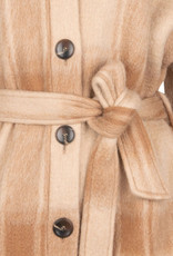 Dante 6 Trucker Check  Shirt-Coat Hazelnut