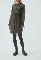 Modstrom Melissa Print Dress Blurred Animal