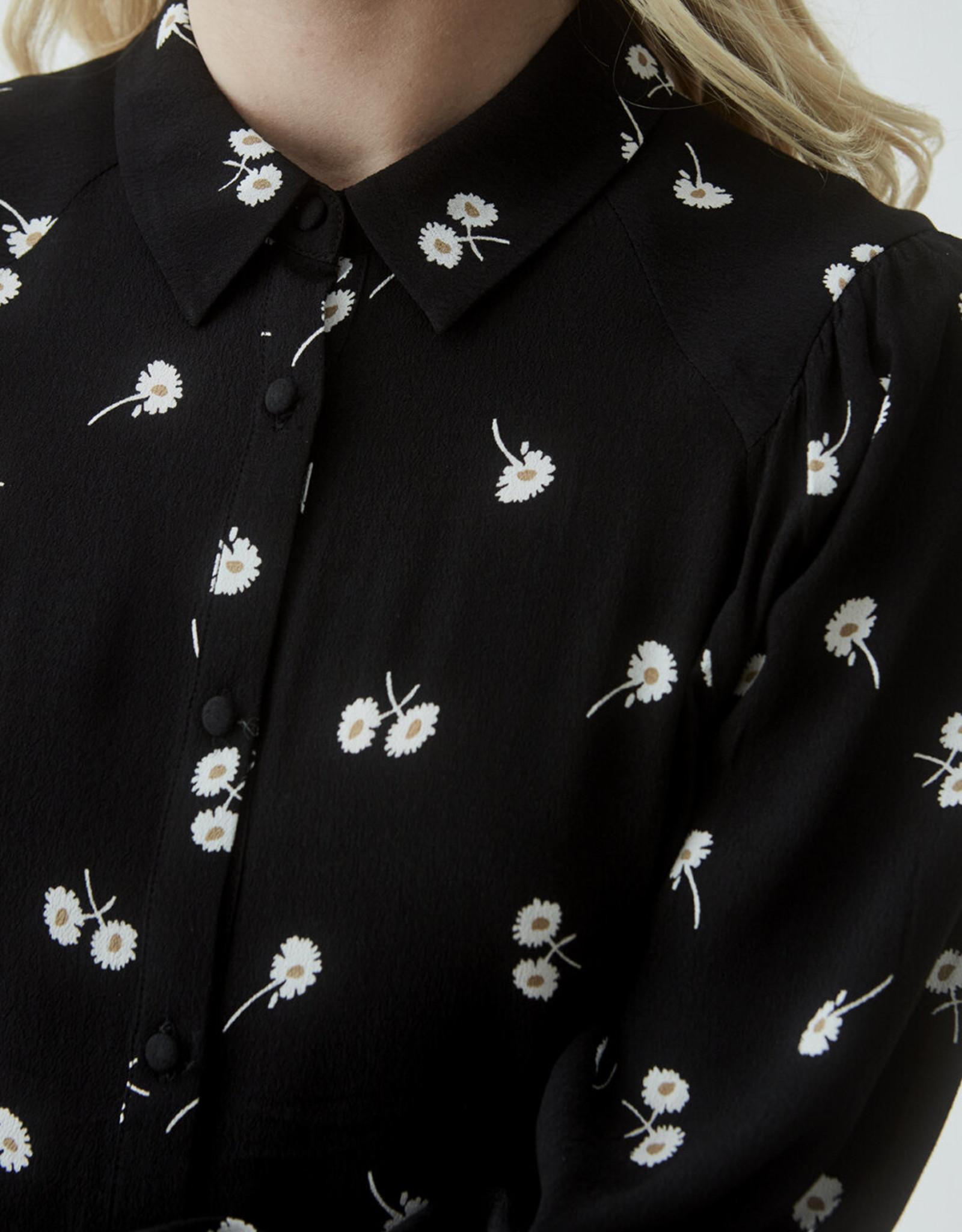 Modstrom Mercy Print Shirt Dark Daisy