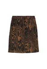 Modstrom Mateo Print Skirt Pecan Wood