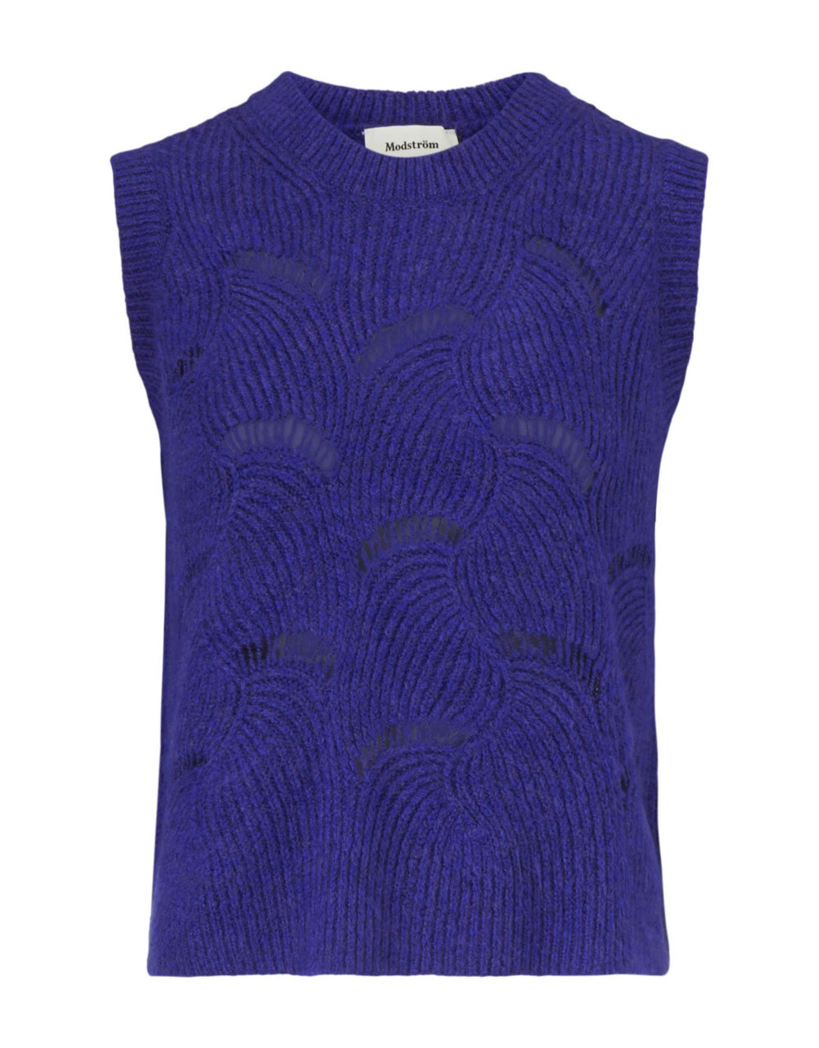 Modstrom Matthew Vest Clematis Blue