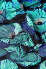 Fabienne Chapot Billy Slim Top Aqua Poppies