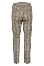 InWear Callina Zella Flat Pants Brown Check