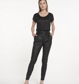 Ibana Paula Stretch Leather Black