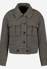 Ibana Cade Coat Multi Colour Check