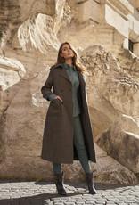 Ibana Cyra Coat Multi Colour Check