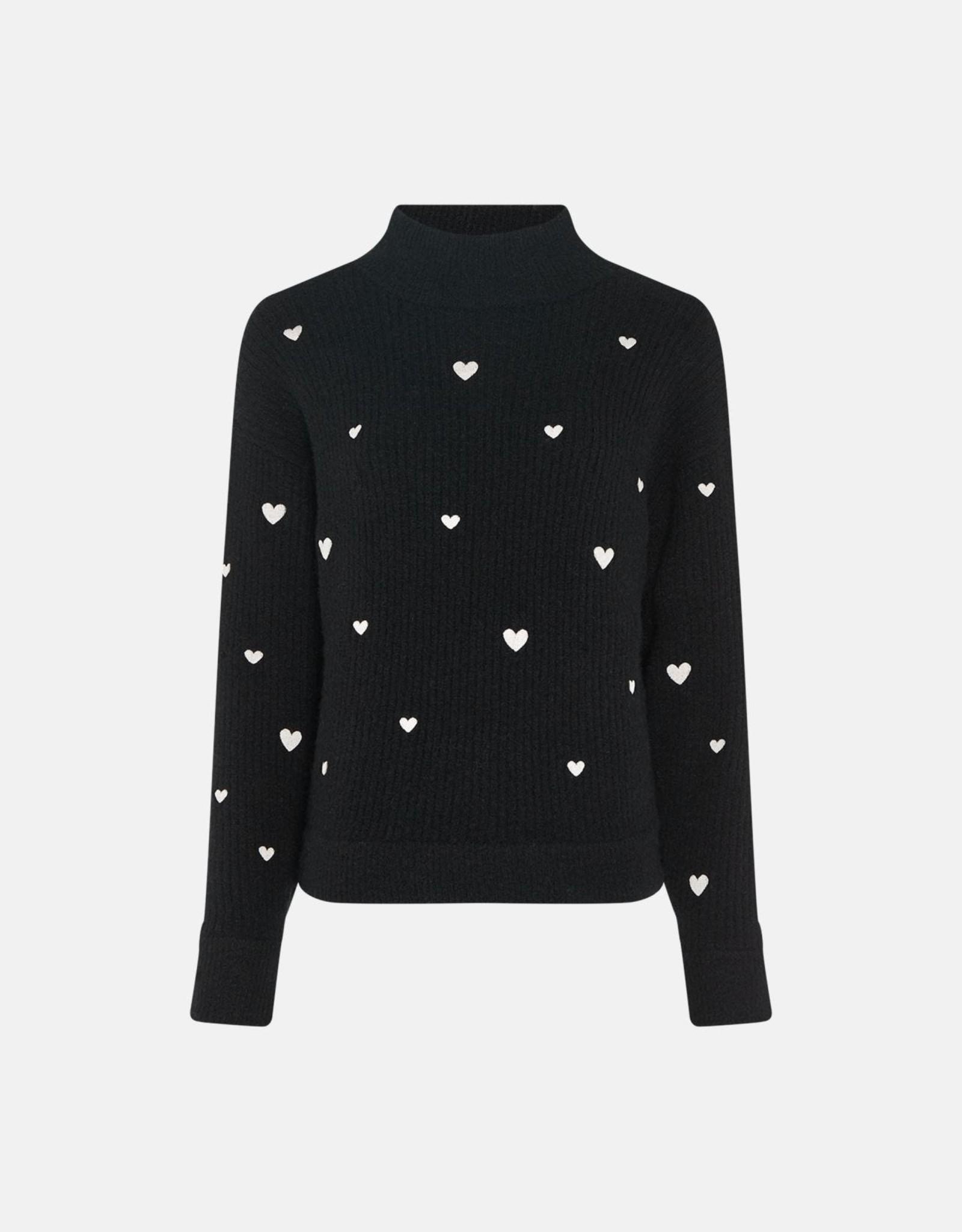 Fabienne Chapot Oliviana Pullover Black Cream White