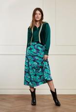 Fabienne Chapot Claire Skirt Aqua Poppies