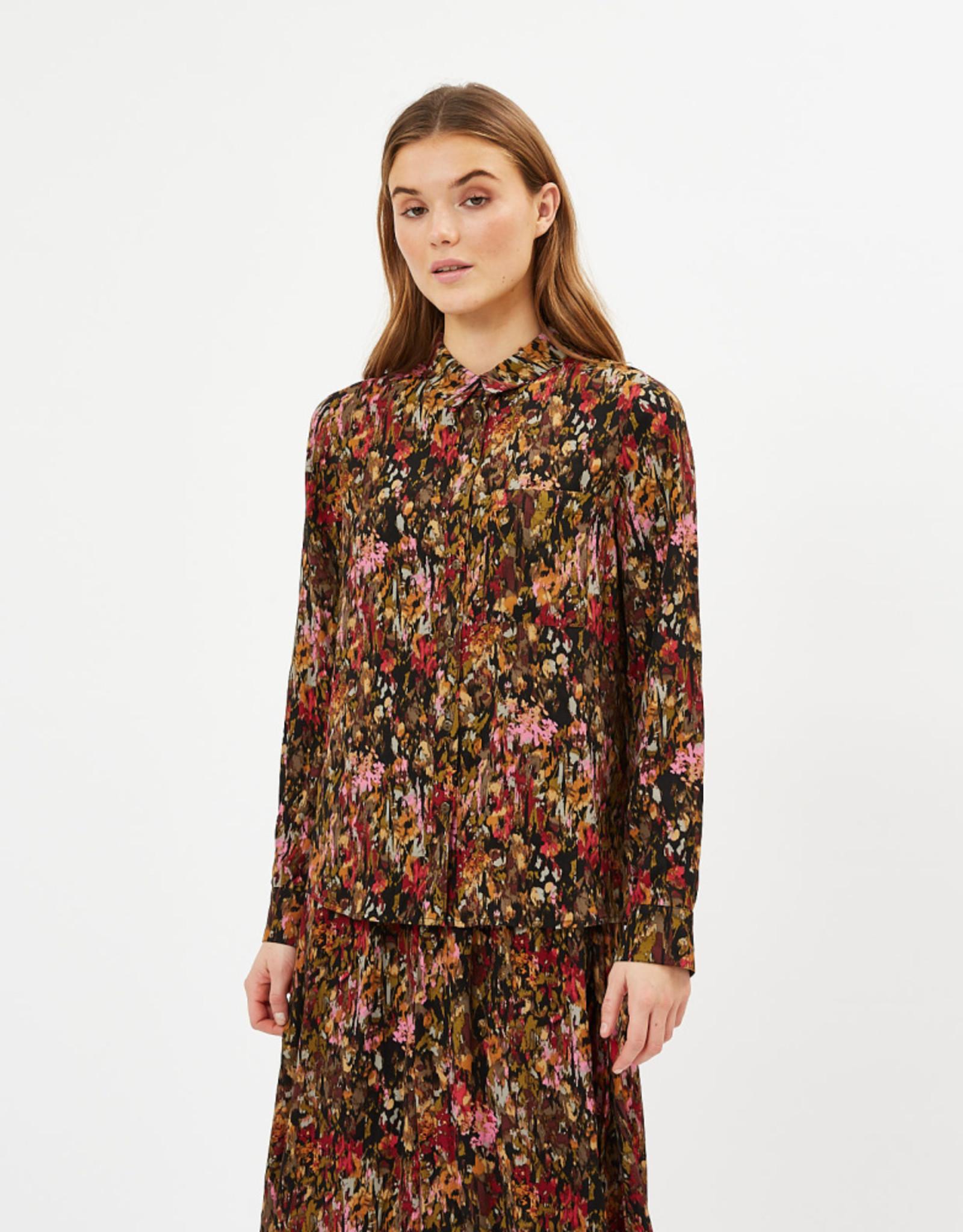 Minimum Kesia Long Sleeved Shirt Black