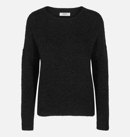 Moss Copenhagen Femme Mohair O Pullover Black