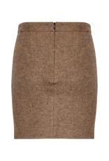 InWear Channing Mini Skirt Brown Melange