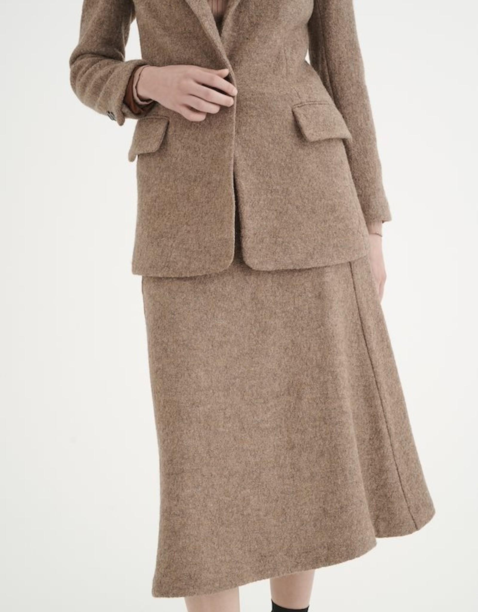 InWear Channing A-Line Skirt Brown Melange