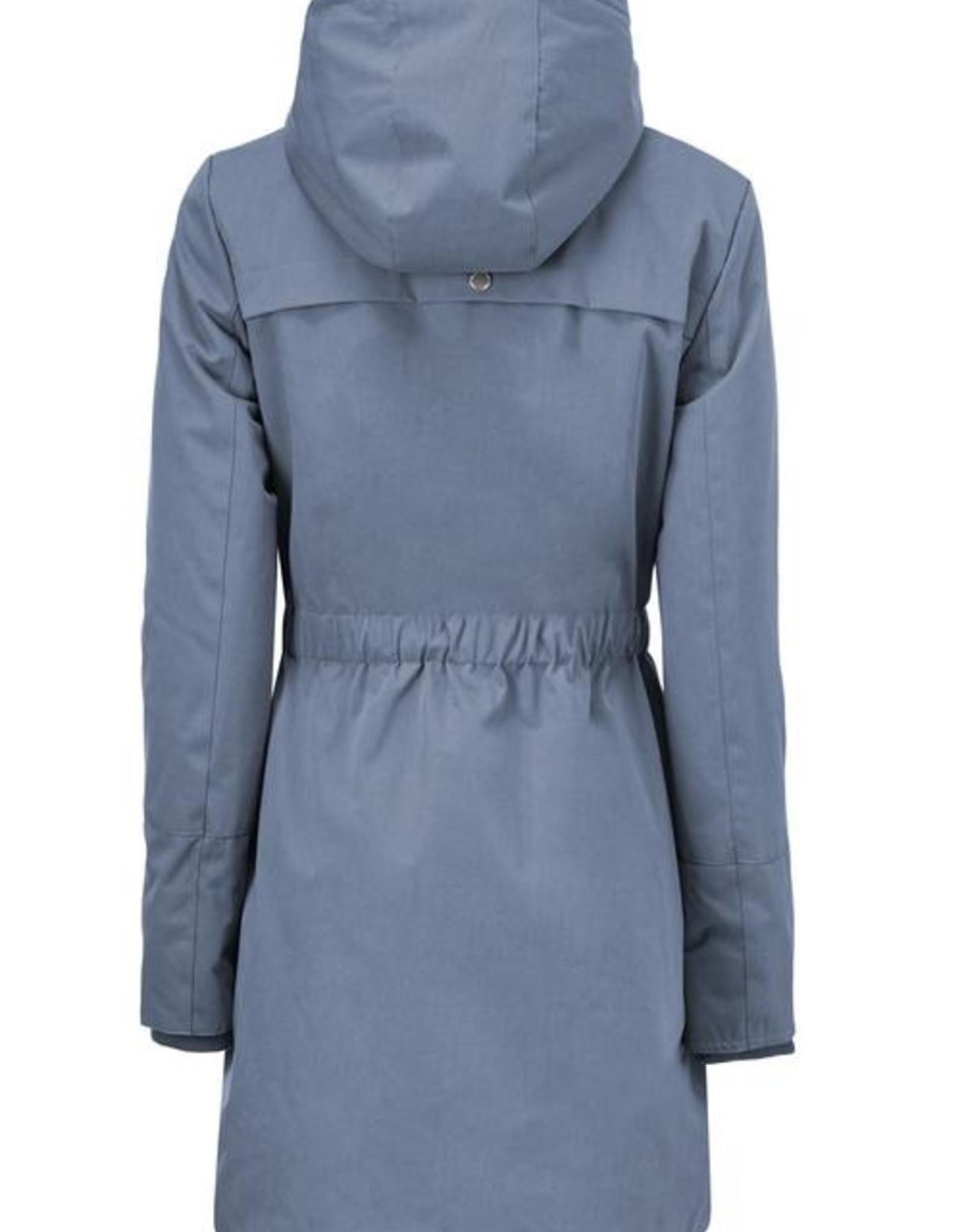 Modstrom Denise Coat Vintage Blue
