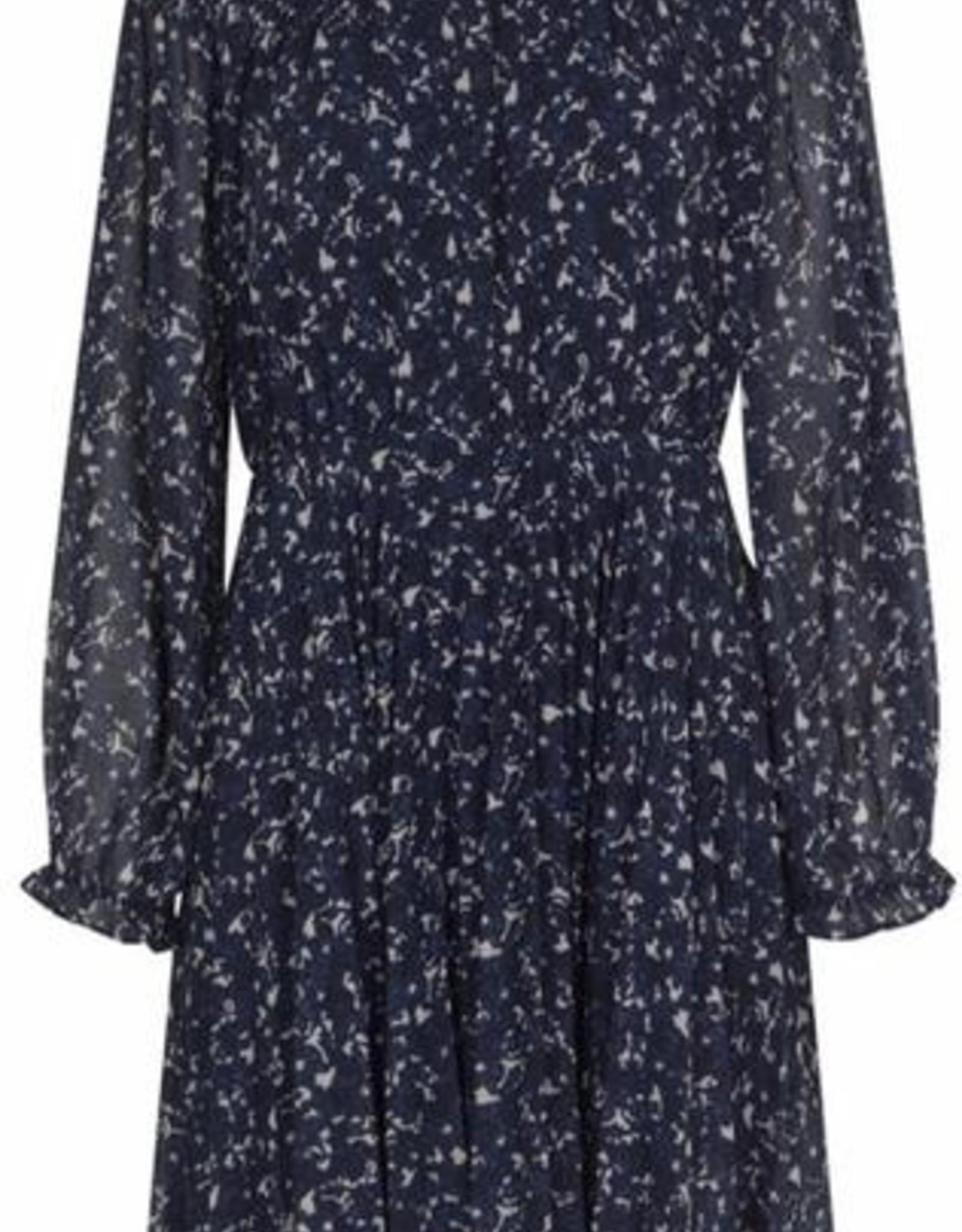 Second Female Norrie Short Dress Maritime Blue