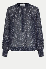 Second Female Norrie Blouse Maritime Blue