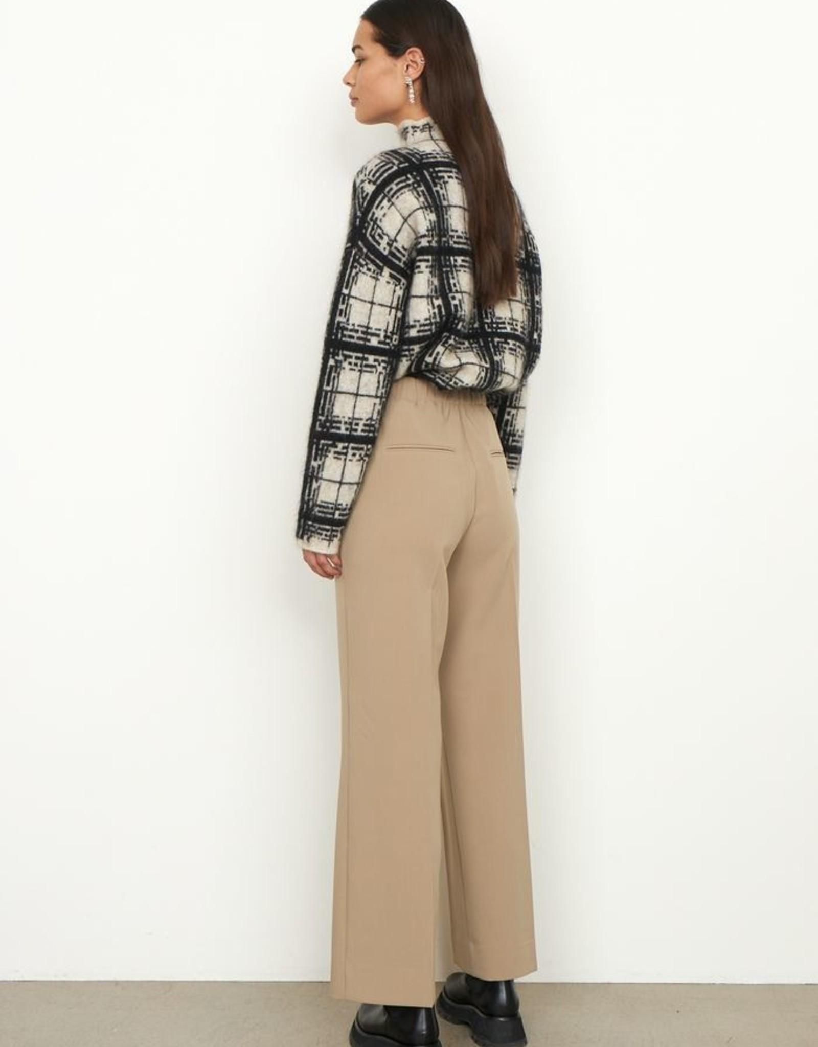 Second Female Evie Classic Trousers Chinchilla