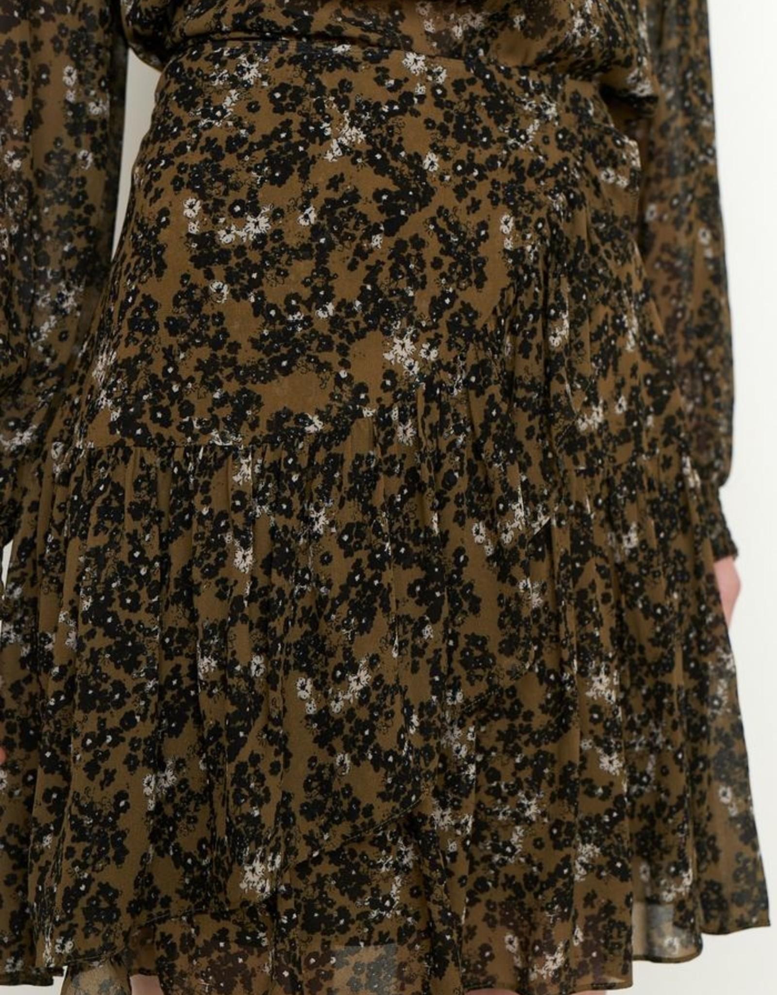Second Female Simone Skirt Burnt Olive
