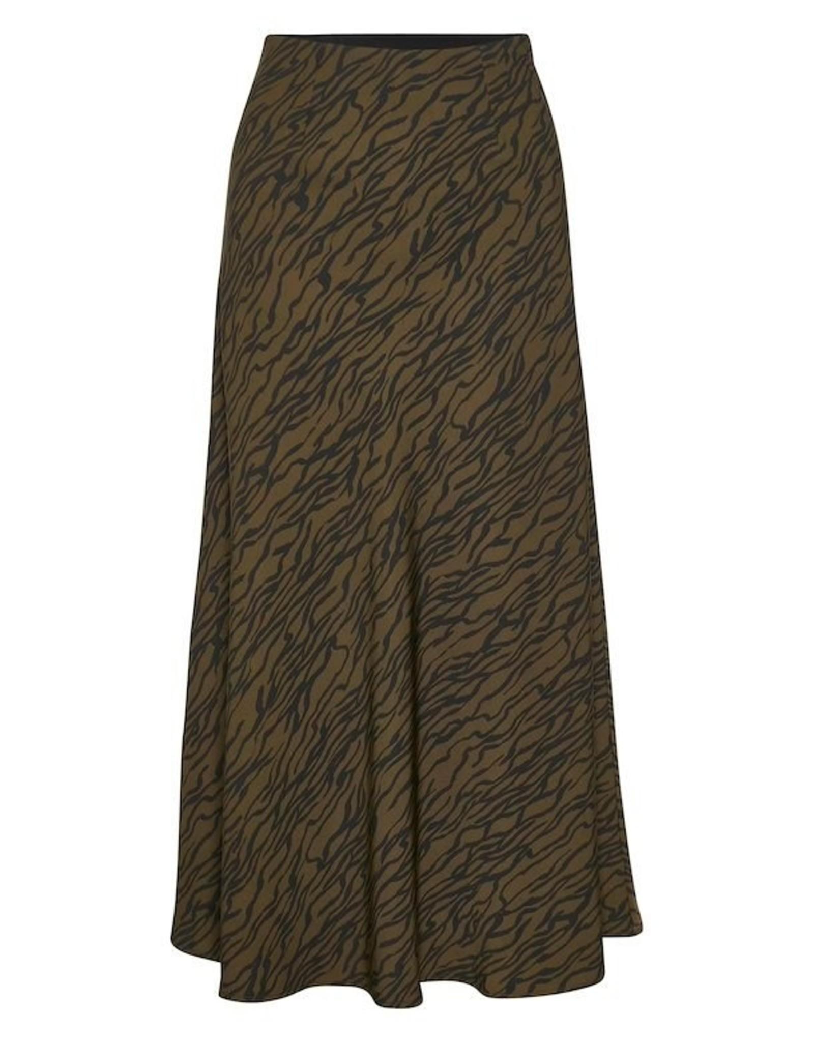 Gestuz Sigrid HW Skirt Forrest Lines