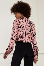 Fabienne Chapot Sophia Blouse La La Leaves Pink