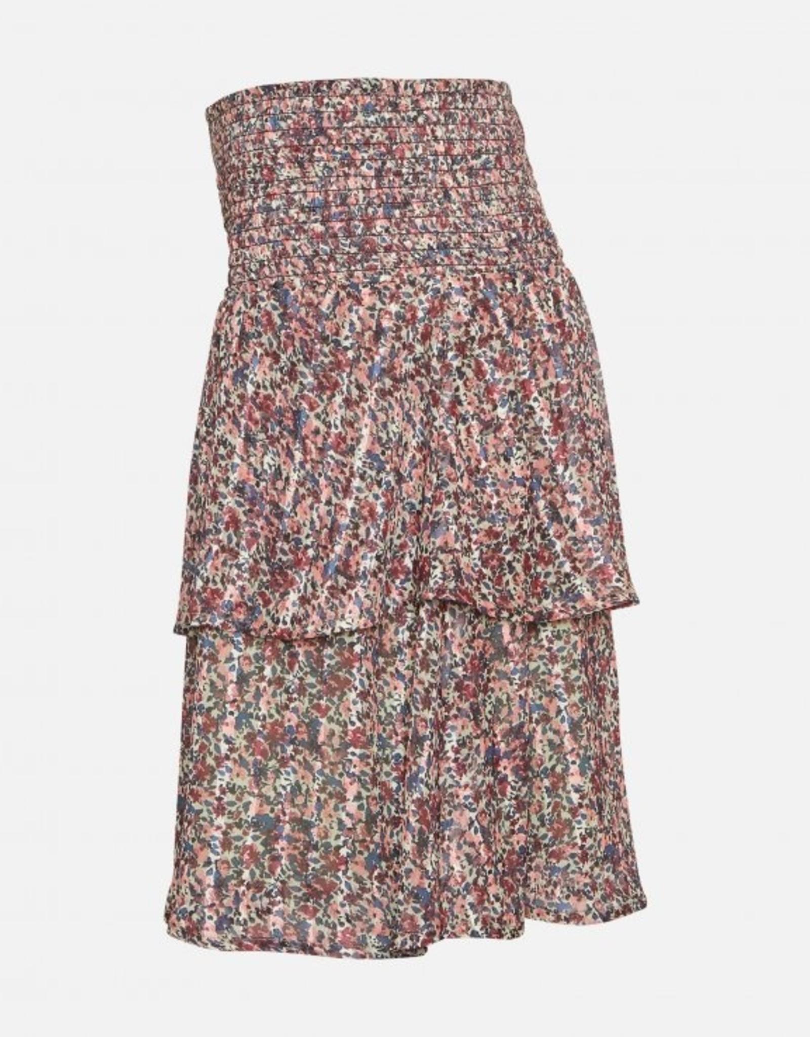 Moss Copenhagen Kaline Short Skirt Lint Flower