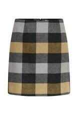 InWear Tuva Skirt Check with Yellow