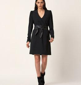 Dante 6 Peggy Belted Dress Raven