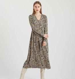 Minimum Nutilia LS Dress Black Print