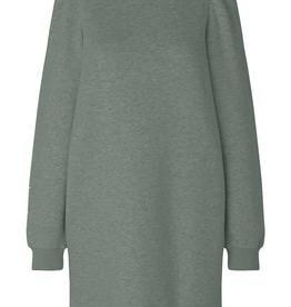 Second Female Carmelle Sweat Crew Neck Dress Castor Grey