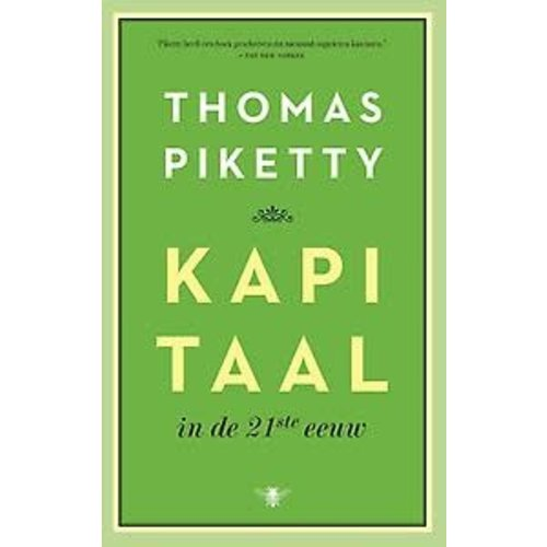 Thomas Piketty Kapitaal in de 21ste eeuw