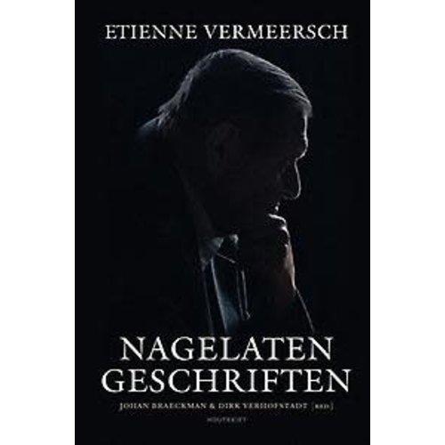 Etienne Vermeersch Nagelaten geschriften