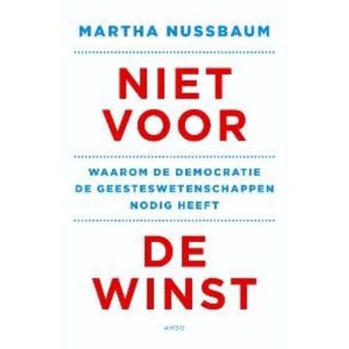 Martha C. Nussbaum Niet voor de winst
