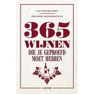Luc Hoornaert 365 wijnen die je geproefd moet hebben