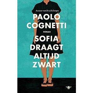Paolo Cognetti Sofia draagt altijd zwart