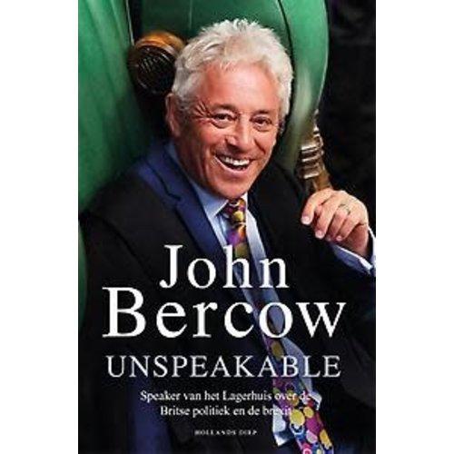 John Bercow Unspeakable