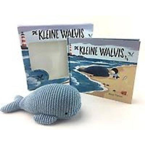 Benji Davies De kleine walvis - knuffel met boek