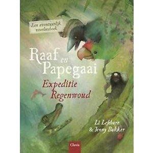 Li Lefebure Raaf en papegaai: Expeditie regenwoud