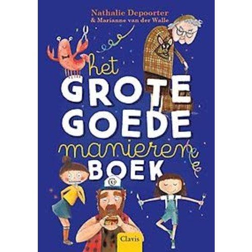 Nathalie Depoorter Het grote goedemanieren boek