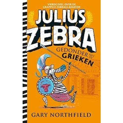 Gary Northfield Julius Zebra 4 - Gedonder met de Grieken