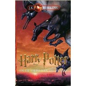 J.K. Rowling Harry Potter en de orde van de feniks - hardcover