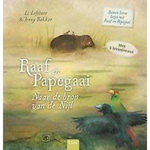 Li Lefebure Raaf en papegaai: Naar de bron van de nijl