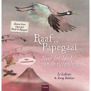 Li Lefebure Raaf en papegaai: Naar het land van de rijzende zon