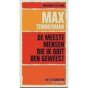 Max Temmerman De meeste mensen die ik ooit ben geweest
