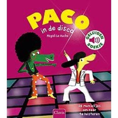 Magali Le Huche Paco in de disco